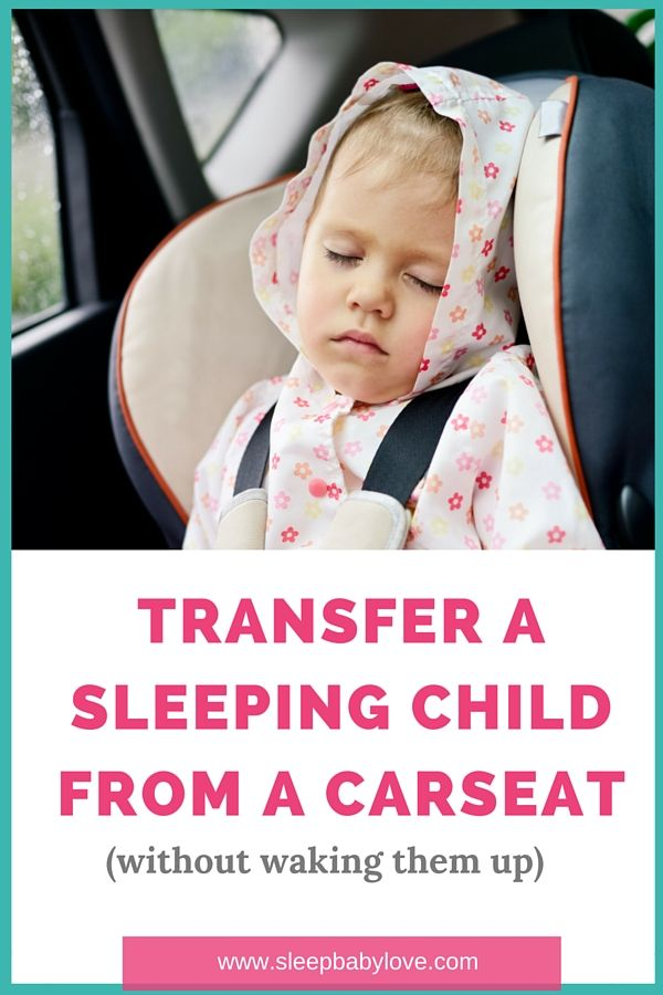 Transfer Your Sleeping Child From A Car