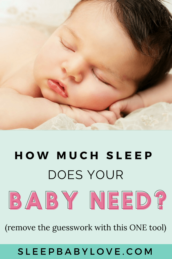 Baby Sleep Needs By Age