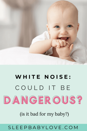 Is White Noise Really Dangerous? Should You Get Rid Of Your White Noise Machine? Actually, Quite The Contrary! White Noise Is A Very Helpful And Useful Tool To Aid In Helping Your Child Sleep And Mask Surrounding Noises. Click Through To Learn Why! Baby Sleep Tips | How To Get Your Baby To Sleep | Newborn Sleep | Sleep Chart | Parenting #sleepbabylove #sleeptips #sleep #parenting #sleepthroughthenight #newmom #babysleep #newborn
