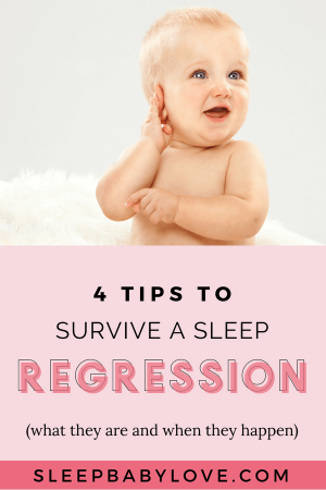 Sometimes We Find That If Our Child Is Going Through A Sleep Regression (or A Period Of Sucky Sleep) It Could Be Due Todevelopmental Changes, Or Sometimes It's Because Of Poor Sleep Habits Rearing Its Ugly Head! Click Through To Learn These 4 Essential Sleep Regression Tips To Soothe Your Baby And Help Them Get Back To Sleep! Baby Sleep Tips | How To Get Your Baby To Sleep | Parenting | Newborn Sleep #sleepbabylove #sleeptips #sleep #parenting #newmom #babysleep
