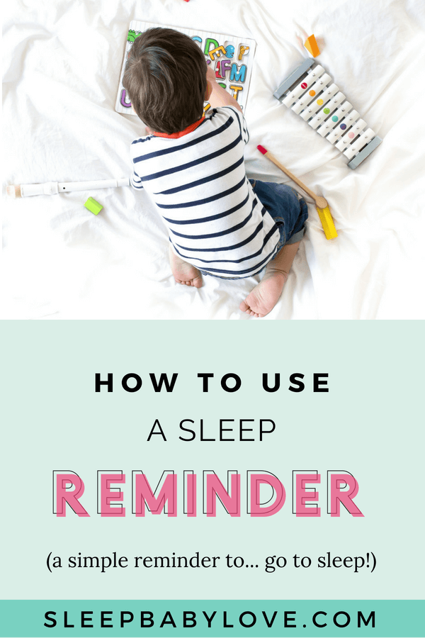 Sleep Reminder: A Friendly Reminder To Go To Sleep!