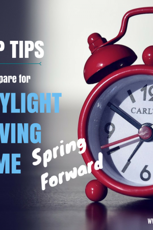 Prepare For Daylight Saving Time To Spring Forward | Www.sleepbabylove.com | #sleep #toddler #baby