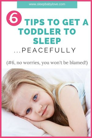 6 Tips To Get A Toddler To Sleep (2) (1)