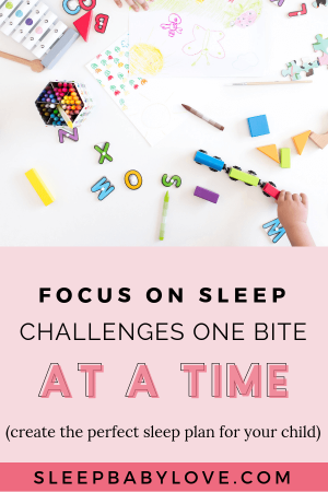 Instead Of Overwhelming Yourself By Looking At Your Entire Sleep Plan, We As Parents Need To Focus On Overcoming Our Child's Sleep Challenges One Little Success At A Time. Baby Sleep Tips | Newborn Sleep | Parenting Tips | Sleep Training #sleepbabylove #sleeptips #sleep #parenting #sleeptraining #babysleep