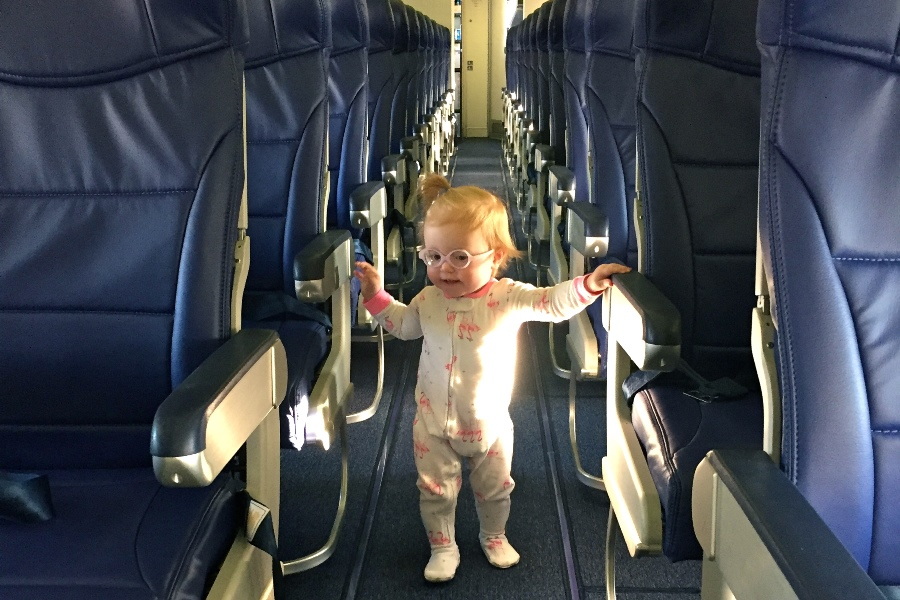 Traveling with your baby and toddler can be OK with these tips. Practicing, preparing and setting expectations low will help that sleep is OK.