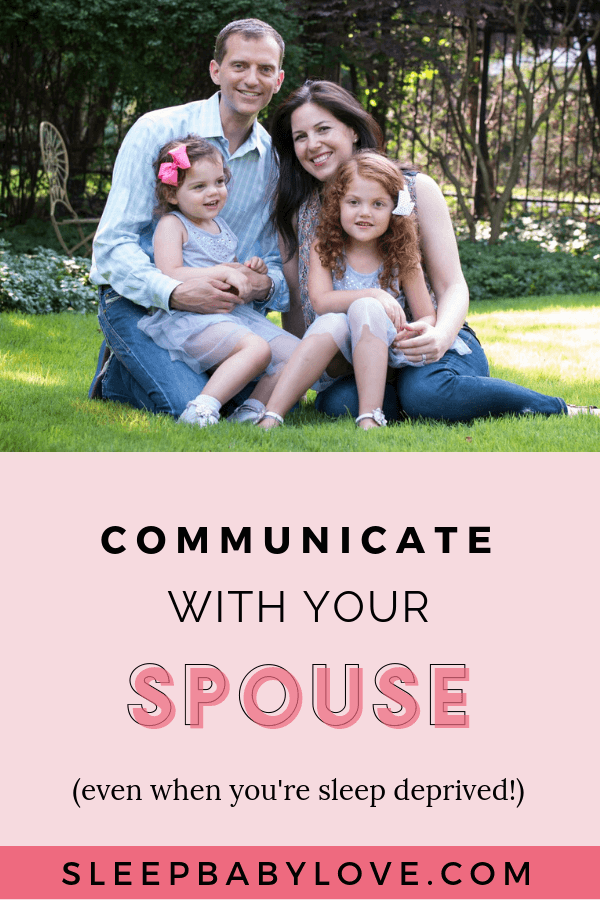 5 Tips For Communicating With Your Spouse (Even When Sleep Deprived)