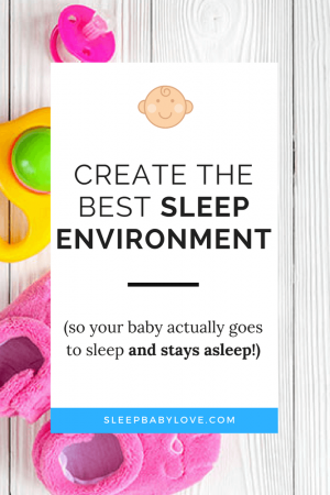 how to get baby to sleep in own room