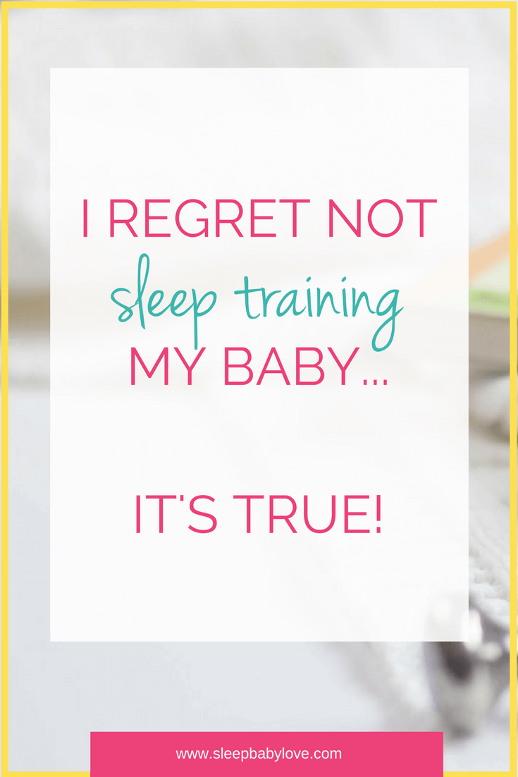 I Regret NOT Sleep Training My Child…There I Said It