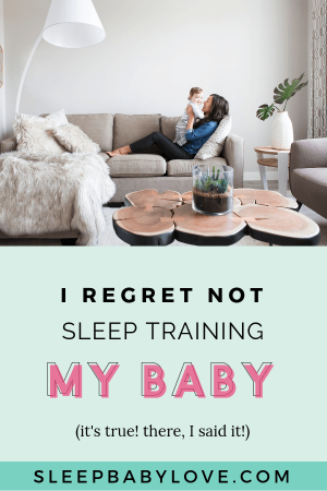 We're Parents And Therefore Not Perfect. We Have All Learnt From Our Mistakes And This One Is Mom No Exception. She Regrets Not Sleep Training Her Baby Because Her Now 4-year-old Is Struggling With Sleep. Parenting | Sleep Training | #sleepbabylove #sleeptips #sleeptraining #parenting