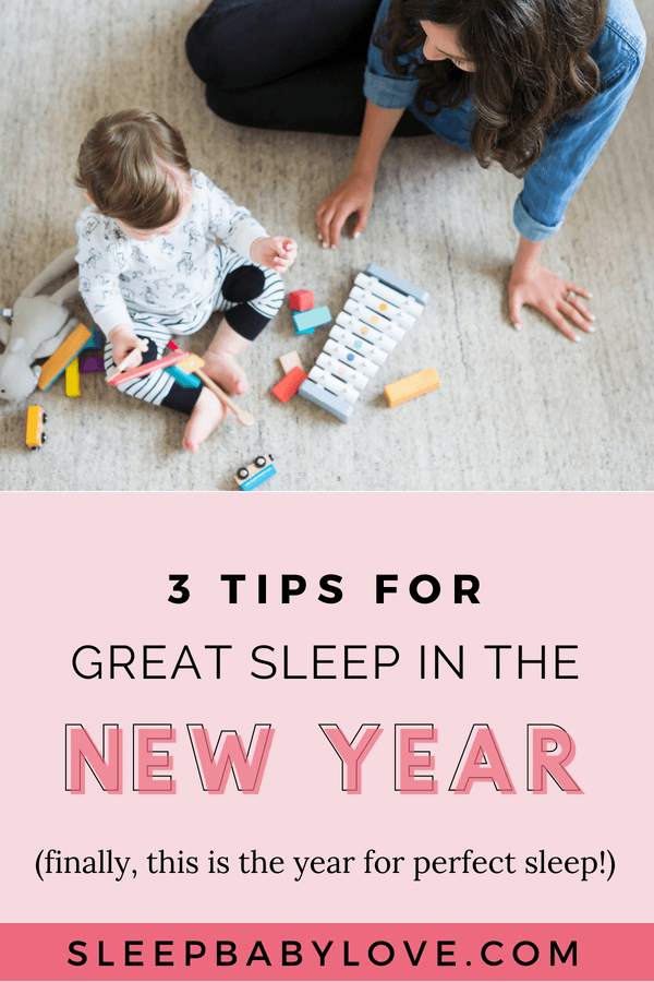 3 Tips For Great Sleep In The New Year