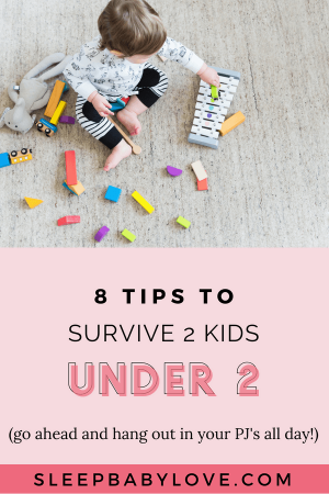 Having 2 Kids Is A Total Game-changer! As A Certified Sleep Consultant, I'm Want To Talk About The Survival Tactics For The Week And Months Ahead With Two Kids Under Two. Click Through To Learn My 2 Under 2 Survival Tips! Baby Sleep Tips | How To Get Your Baby To Sleep | Newborn Sleep | Parenting | 2 Kids Under 2 #sleepbabylove #sleeptips #sleep #parenting #newmom #babysleep #newborn