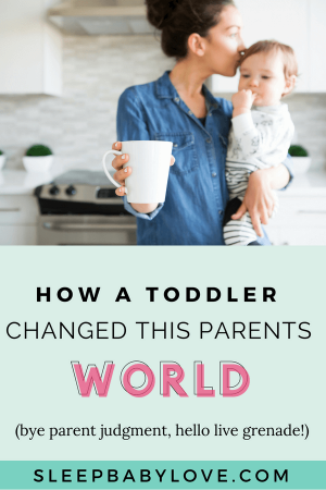 Goodbye Parent Judgment, Hello Live Grenade! A First-time Mother Shares Her Feelings On How Their Outlook On Parents Have Changed Since Starting A Family. Preschool Tips | Preschooler Sleep | Toddler Tips | Toddler Sleep Tips | Parenting #sleepbabylove #sleeptips #sleep #parenting #preschooler #toddler