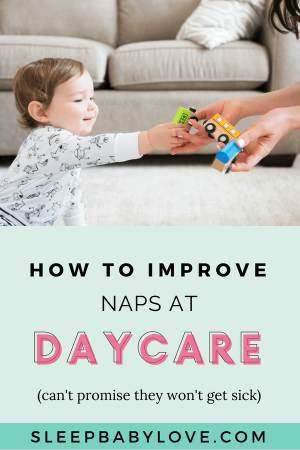 If You Find That Naps Are Still Not Great After Several Weeks Of Adjustment At Daycare, Talk To The Daycare And Figure Out A Day That You Can Get Sleep Habits Not Track. Click Through To Learn How You Can Improve Naps At Daycare! Baby Sleep Tips | How To Get Your Baby To Sleep | Newborn Sleep | Daycare Tips | Parenting #sleepbabylove #sleeptips #sleep #parenting #newmom #babysleep #newborn