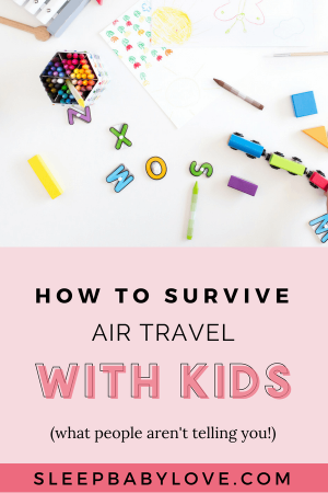 Have You Ever Been Scared Or Fearful Of Getting Ready To Travel With Your Kids? The Idea Of A Little Rest, Relaxation, And Ditching The Cold Is Great In Theory, But Then The Reality Sets In. Bring On The Panic! Click Through For My Top 5 Air Travel Tips For The Whole Family! Family Travel Tips | Travel With Kids | Air Travel | Family Vacation Tips | Tips For A Family Vacation #sleepbabylove #familytravel #familyvacation