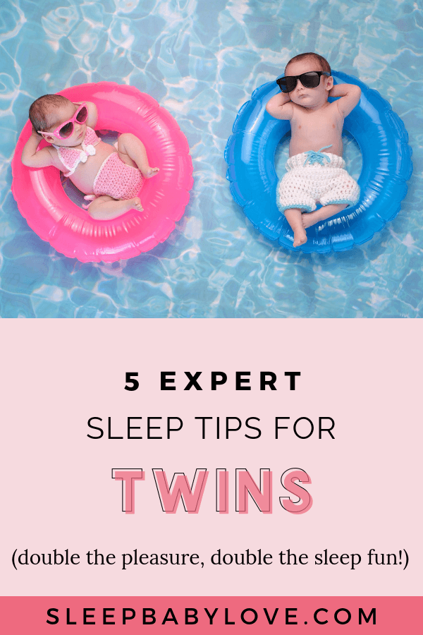 When It Comes To Sleep, You May Think That You Are Doubling Your Sleep Challenges, But Have No Fear! Focusing On These Baby Sleep Tips For Twins You'll Be Able To Feel Like You're Winning Mom Of The Year! Click Through To Learn These 5 Expert Sleep Tips For Twins So You Can Double The Pleasure, Double The Sleep Fun! How To Get Baby To Sleep | Newborn Sleep | Parenting Tips | Sleep Training | Tips On Having Twins | Twin Tips #sleepbabylove #sleeptips #sleep #parenting #newmom #babysleep #newborn