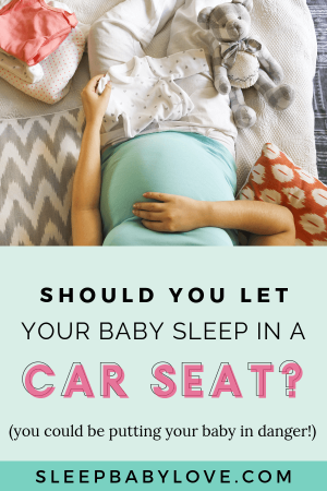 When A Baby Falls Asleep In The Car, Many Parents Will Bring The Car Seat Into The House And Let The Baby Finish Their Nap In The Car Seat. But Did You Know You Could Be Putting Your Baby In Danger? Click-through To Learn More About The Leading Cause Of Death For Infants! Parenting Tips | Baby Sleep Tips | Baby Safety | Car Seat Safety | Newborn Sleep | Sleep Training #sleepbabylove #sleeptips #sleep #parenting #newmom #babysleep #newborn #sleeptraining