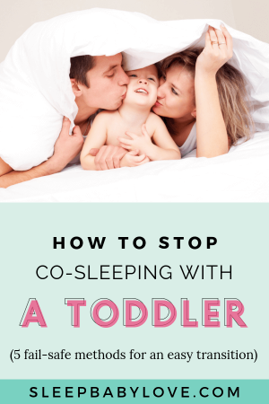 Co-sleeping Or Bedsharing With Your Child Is A Great Way To Bond With Them. There Are Many Reasons Why Parents Start Co-sleeping With Their Children, But It's Not Always Rainbows And Sunshine. Here Are 5 Fail-safe Methods For An Easy Sleep Transition To Get Your Toddler Sleeping In Their Own Bed! Parenting Tips | Toddler Sleep | Sleep Training | Preschooler Sleep Tips | #sleeptips #toddlersleep #toddler #toddlerlife #preschool
