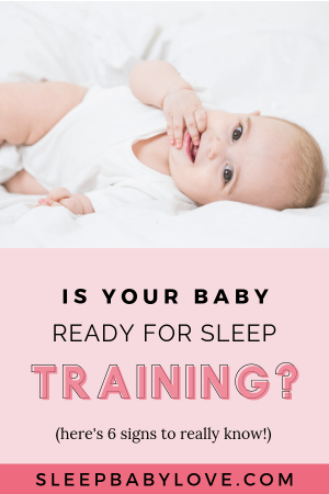Sleep Training Is A Rather Complicated And Touchy Subject. But First, We Must Understand What Sleep Training Really Is For Us As Parents To Decide If It's Time To Start Sleep Training Our Infant. Click Through To Learn More About Sleep Training, And The 6 Signs To Know When The Best Time To Start Sleep Training Is! Baby Sleep Tips | Newborn Sleep | Parenting Tips | Sleep Training #sleepbabylove #sleeptips #sleep #parenting #newmom #babysleep #newborn #sleeptraining